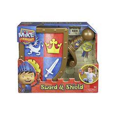 Fisher Price - Mike o Cavaleiro - Espada e Escudo