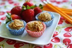 Recipe: Triple Play Peanut Butter Oatmeal Muffins