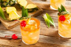 Buy Homemade Mai Tai Cocktail by on PhotoDune. Homemade Mai Tai Cocktail with Pineapple Cherry and Rum Mai Tai Cocktail Recipes, Rum Cocktails, Refreshing Summer Cocktails, Classic Cocktails, Summer Drinks, Cocktail Drinks, Beach Drinks, Cocktail Shaker, Pool Drinks