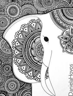 zentangle art dani hoyos - Buscar con Google: