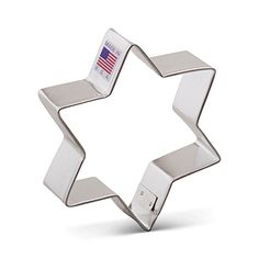 Ann Clark Star of David Cookie Cutter  375 Inches  Tin Plated Steel -- Read more  at the image link. (This is an Amazon affiliate link and I receive a commission for the sales and I receive a commission for the sales)