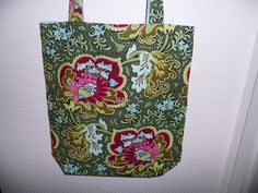 Amy Butler Flowers Amy Butler, Shopping Bags, Fabulous Fabrics, Reusable Tote Bags, Sewing, Pattern, Flowers, Collection, Couture