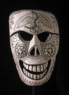 Mexican decorative skull mask, Day of the Dead, Mexico
