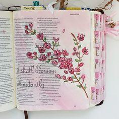 Isaiah 35 #biblejournaling #biblejournalingdaily #journalingbible…