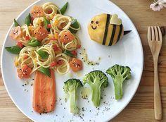 comidas para crianças criativas - Pesquisa Google