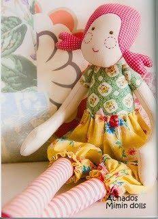 Mimin Dolls: boneca de pano