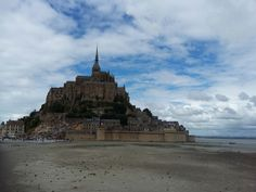 Beautiful Mont Saint Michel, Normandie, France ♡♡♡