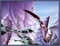 Castle Dragonscar: 1970s Fantasy Art: More Rodney Matthews Awesome