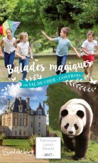 Consultez la carte touristique 2017 de la Vallée du Cher entre Chenonceau, Beauval et Chambord - Office de Tourisme Val de Cher Controis