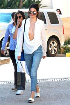 Kendall Jenner 'braless'