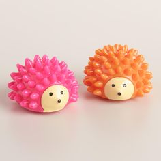 A fun way to soothe your lips, our Hedgehog Lip Balms feature a cheerful pink and orange hedgehog-shaped container filled with strawberry-flavored balm. With its cute round body, it's a fun way to moisturize dry lips. You won't be able to resist taking it along everywhere!