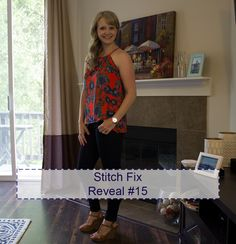 Coming in Hot - with Stitch Fix #15