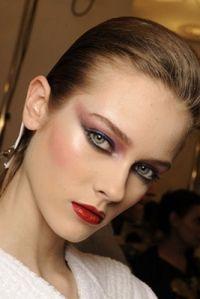 80s Inspired Makeup Look. 80's winter formal 2k12