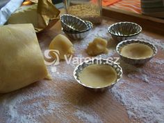 Czech Recipes, Christmas Cookies, Sweet Recipes, Tart, Muffin, Food And Drink, Pudding, Sweets, Baking