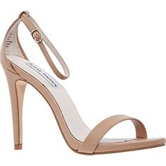 Nude Strappy Heeled Sandals