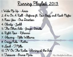 the best 2013 running playlist!