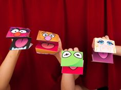 Muppet crafts!! : ) - Re-pinned by @PediaStaff – Please Visit http://ht.ly/63sNt for all our pediatric therapy pins