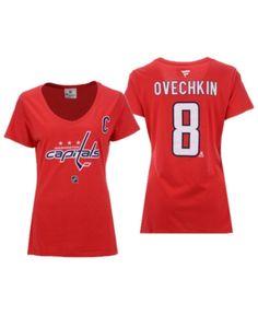 Fanatics Women Alexander Ovechkin Washington Capitals Player T-Shirt 978dae4847