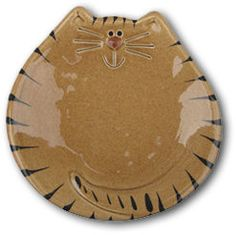 August Ceramics Brown Tabby Cat Dish / Spoon Rest / Soap Dish Ceramic Pottery, Ceramic Art, Clay Projects For Kids, Cat Diary, Clay Fairies, Pottery Classes, Pottery Sculpture, Ceramics Projects, Cat Design