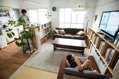 Small Apartment Design, Studio Apartment Decorating, Apartment Interior, Apartment Living, Small Living Rooms, Home Living Room, Style At Home, Interior Exterior, Interior Design