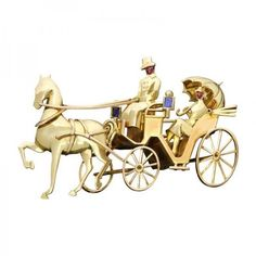 Pre-owned Maubo Paris Sapphire Ruby 18K Gold Horse Carriage Couple... (23.885 BRL) ❤ liked on Polyvore featuring jewelry, brooches, pre owned jewelry, gold jewelry, ruby brooch, retro jewelry and ruby jewellery