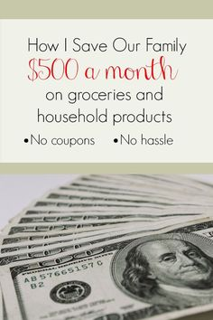 I'm going to share with you how switching to off-brand products saved our family $500 each month. We will discuss what off-brand products are just as good as the name brands, how much money they can save you, and which off-brand products just aren't that