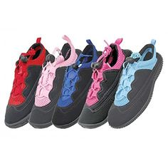 Wholesale Womens Laced Aqua Socks water shoes 611 yoga exercise pool beach swimming river lake * You can get additional details at the image link.
