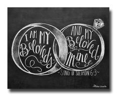 Hey, I found this really awesome Etsy listing at https://www.etsy.com/listing/188721423/wedding-sign-i-am-my-beloveds-song-of