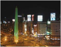 The Obelisk - Ave. 9 de Julio - Buenos Aires