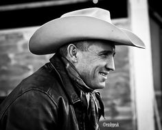 #Cowboy,#Smile,#Man,#Leather,#Hat,#Photography