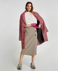 Подборка теплых образов с юбками миди для самых стильных — Lady For Lady
