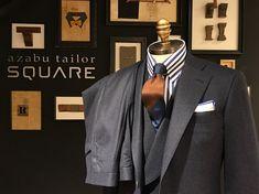 フランネルスーツの魅力。 – SQUARE 福岡店