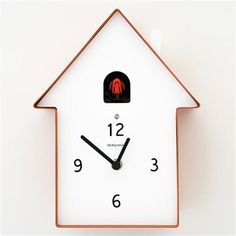 ACHICA | Meridiana Cuckoo Clock 220, Red