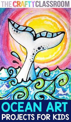 Middle School Art Projects, Summer Art Projects, Classroom Art Projects, Art Projects For Adults, Toddler Art Projects, Art Lessons For Kids, Art Lessons Elementary, Back To School Art, Art Classroom