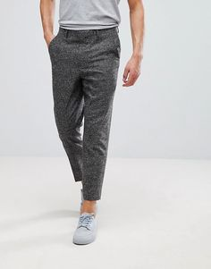 Wedding Tapered Smart Trousers In Putty Wool Mix Check - Putty Asos J8QsVgnYYJ