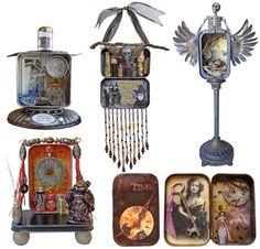 tackling metal tins