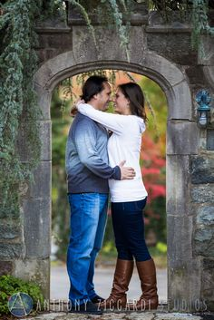 Janelle and Mark at Skylands Botanical Gardens.  #engaged #mrandmrs #soontobe #married #wedding #engagement #photoshoot #anthonyziccardistudios #aziccardi #skylands #botanical #gardens