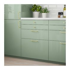 IKEA KALLARP drawer front Covered with high-gloss foil; gives an easy care finish.