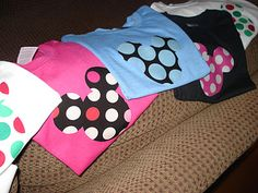 Fun and easy Disney shirts to make so you don't break the bank at the parks.
