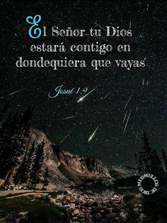 El Señor tu Dios estará contigo en dondequiera que vayas