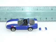 "MICRO MACHINES 1996 GRAND SPORT CORVETTE COLLECTORS EDITION 2"" GALOOB DIECAST #MICROMACHINES"