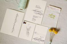 Modern-Apple-Green-Letterpress-Wedding-Invitations