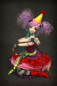 AWESOME Forgotten Hearts Doll Mist BJD Doll