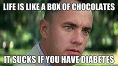 Diabetes joke...