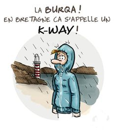 Weather and Brittany (Humor) - Michèle - Satire, Istanbul Film Festival, Dental Humor, Lol, Happy Fun, France, Caricature, Cartoon Characters, Brittany