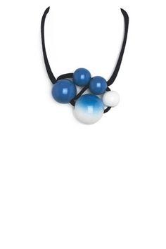 Ceramic pearls by Marion Vidal