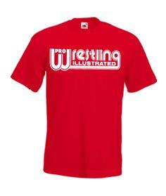 Pro Wrestling Illustrated Classic Wrestling T Shirt. I want one! -WAM