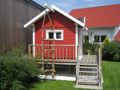 Schwedenhaus gartengestaltung  Stelzenhaus / Holz / Schwedenhaus auf Stelzen | GartenGestaltung ...