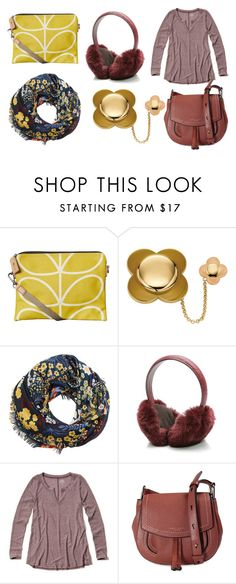 """""""Colour match. Autumn 1"""" by lorika-borika ❤ liked on Polyvore featuring Orla Kiely, MANGO, Gucci, Hollister Co. and Marc Jacobs"""