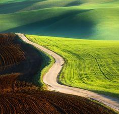 Road by Krzysztof Browko